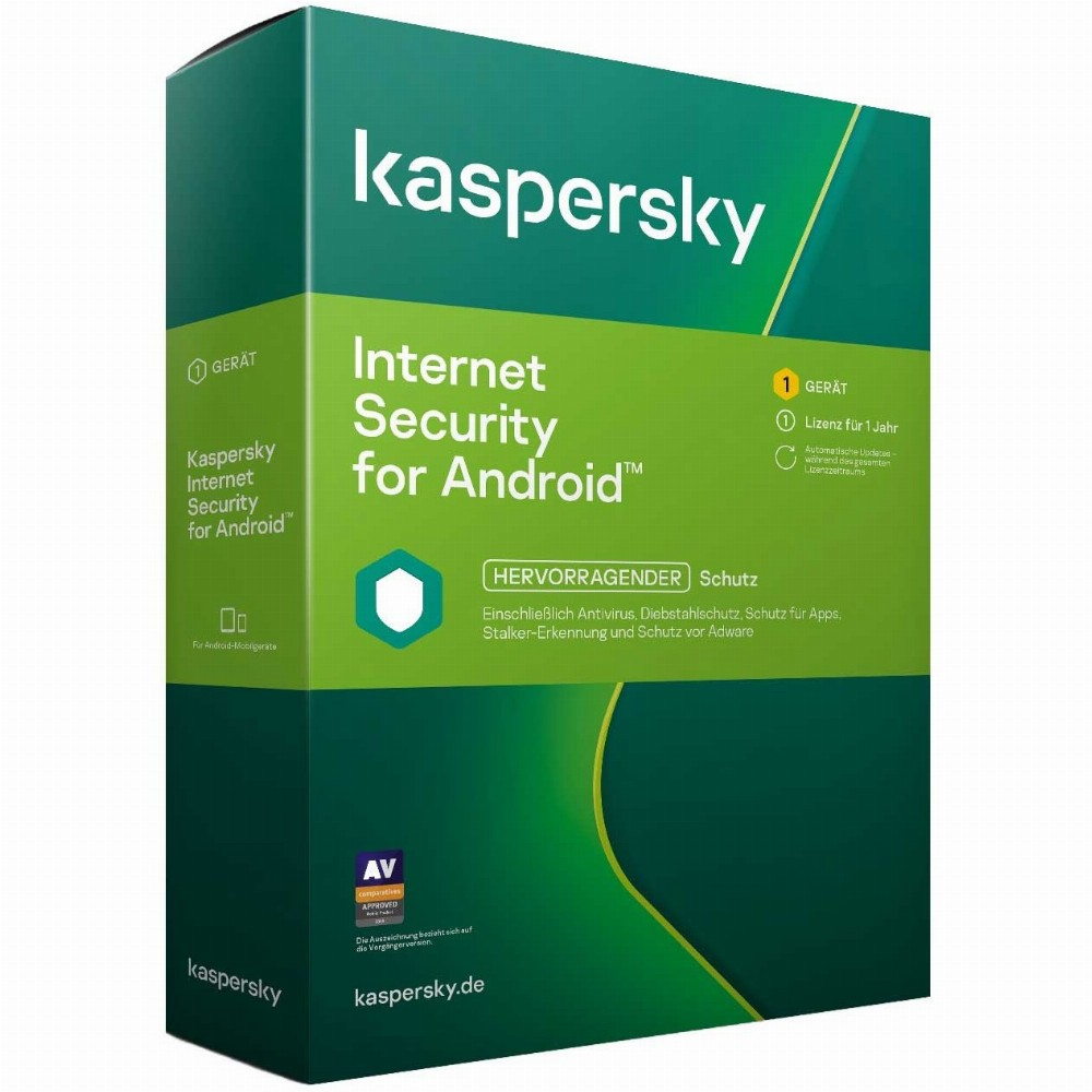 Internet Security for Android - 1 Device, 1 Year - Box